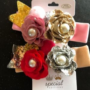 Accessories - Flower Hair clips